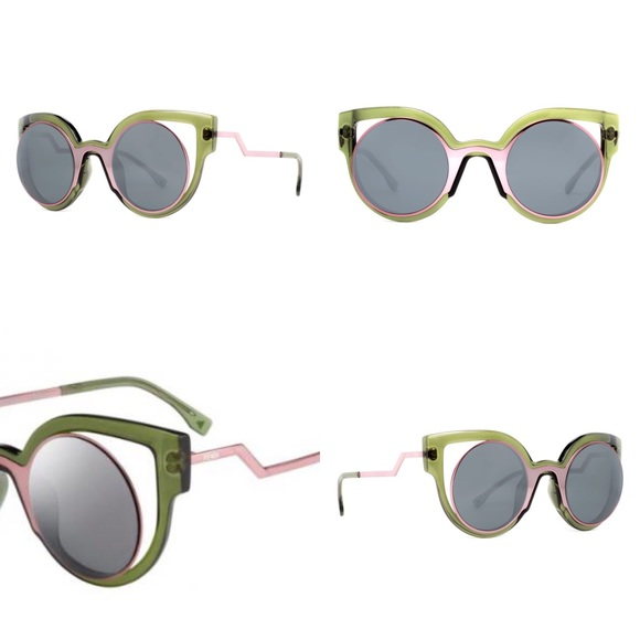 dbc4638c777 Fendi Accessories - FENDI Paradeyes Collection sunglasses - palm pink
